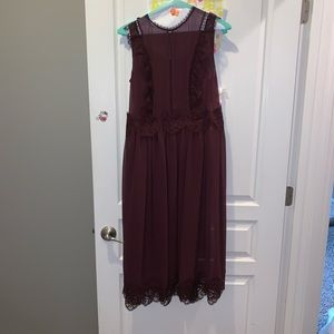 Beautiful dress with full slip under to match